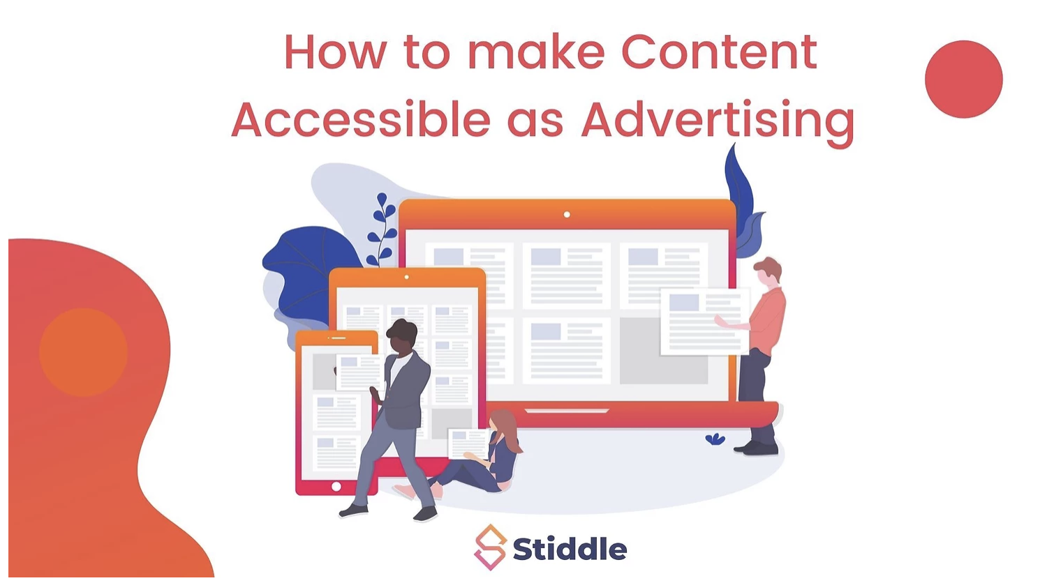Content Accessible as Advertising